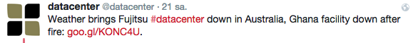 Datacenter Down!
